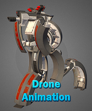 Drone animation