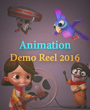 Animation demo reel 2016